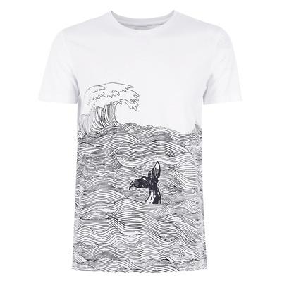 CHỌN Slade Mùa Hè Cotton In Vòng Cổ Casual Nam Ngắn Tay Áo T-Shirt C   417201528