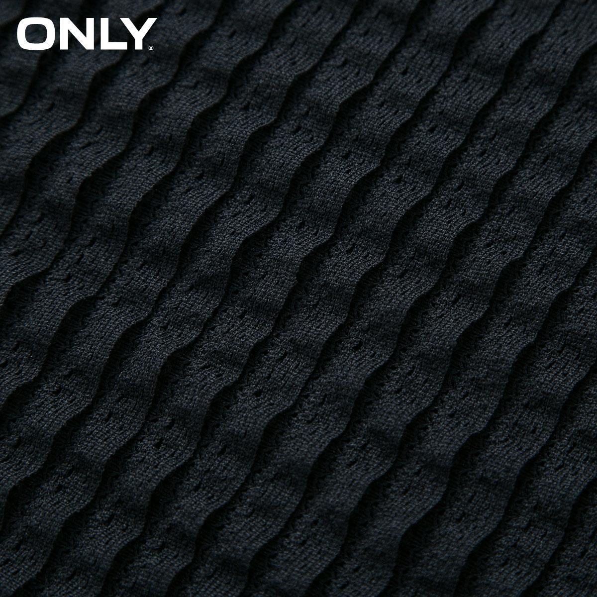Chỉ nhiều lớp ren thiết kế bảy điểm tay áo đan đáy t-shirt nữ-116330545 Áo phông