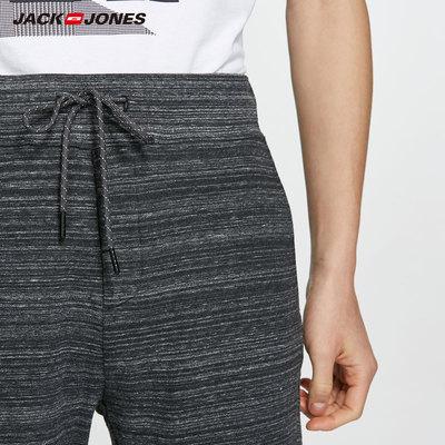 JackJones Jack Jones cotton thoáng khí mồ hôi thấm knit casual quần short thể thao 218215527