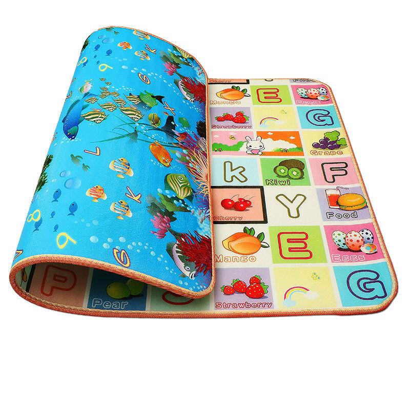 隔凉防水加厚保暖儿童泡沫爬行垫 宝宝学步爬爬垫多尺寸选择