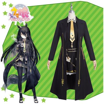 taobao agent Nutcracker COS Horse Racing Game Winning Service Manchester City Cafe Anime Cosplay Costume F0192