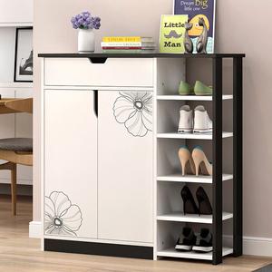 Đơn giản hiện đại tủ giày công suất lớn bằng gỗ đơn giản 2 cửa giày hiên lưu trữ hội trường tủ lưu trữ