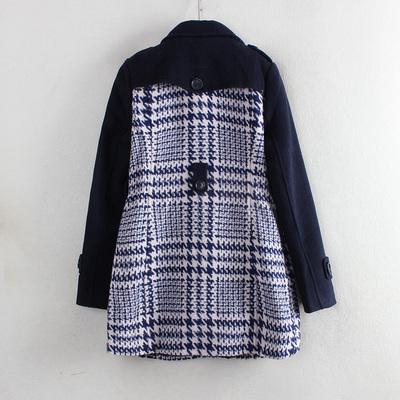 Luật hàng loạt trung tâm mua sắm để rút mới England dài đoạn đôi ngực hoang dã 2017 mùa thu và mùa đông áo len C2456 Trung bình và dài Coat