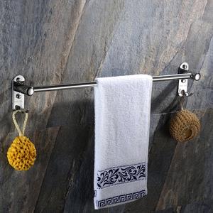洗手间单双杆毛巾杆浴室卫生间厕所毛巾架