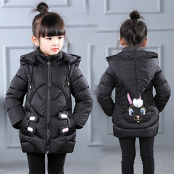 新款冬装女童棉衣外套