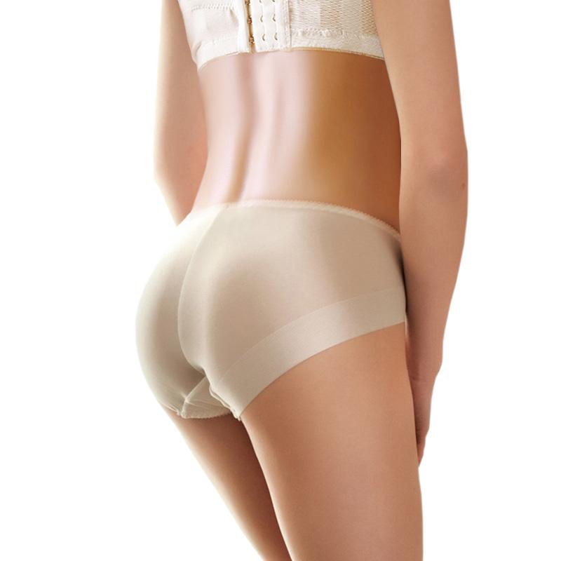 4条盒装 夏天牛奶丝滑无痕内裤女冰丝白色黑色肉色中腰少女生超薄