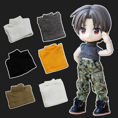 taobao agent ob11 baby clothes accessories clothes GSC clay YMY DDF body9 body can be worn high collar vest base