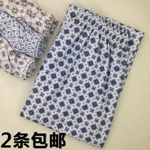 Của nam giới Pajama Quần Đầy Đủ Knit Cotton Mỏng Lỏng Thoải Mái Kích Thước Lớn Mùa Hè Nam Quần Dày Cotton Mùa Xuân và Mùa Thu Casual Home quần