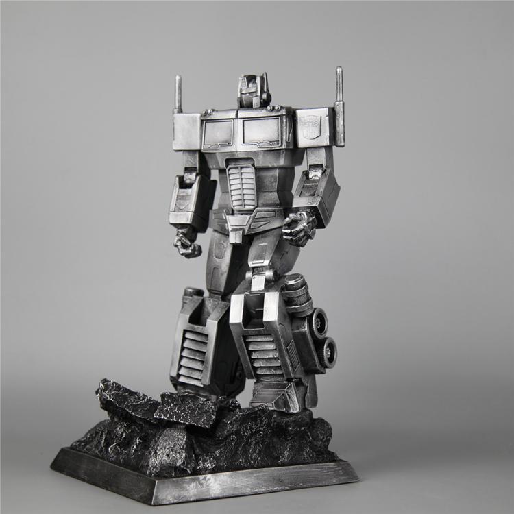 Transformers G1 Autobot Optimus tượng đồ trang trí giả đồng giả sắt ngày lễ sinh nhật mô hình quà tặng làm bằng tay - Gundam / Mech Model / Robot / Transformers