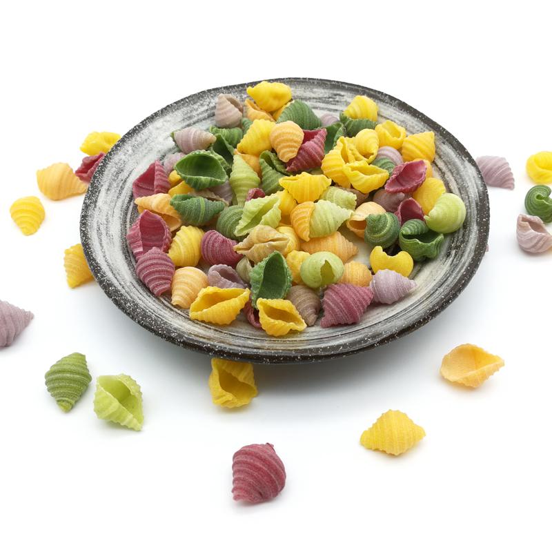 贝壳面海螺面宝宝手工营养蔬菜面条儿童辅食学生面条500克包邮(优惠后3元包邮)