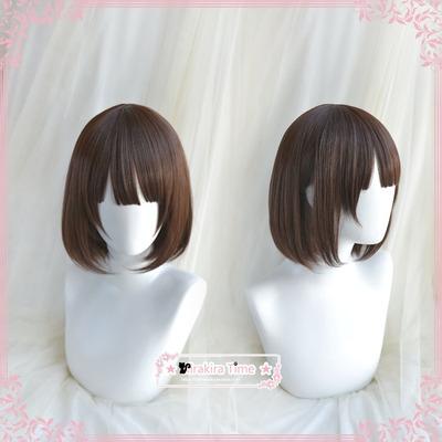 taobao agent 【kira time】 Cosplay Wig How to Raise a Passerby Girlfriend Kato Megumi Saint Megumi
