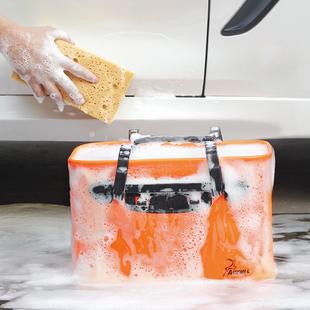 汽车用洗车桶便携式可折叠水桶车载刷车桶