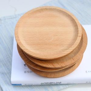 Đọc một bản gốc bằng gỗ món ăn bạch đàn vòng bánh món ăn cách nhiệt mat món ăn ăn sáng tấm Nhật Bản bát mat snack tấm gỗ