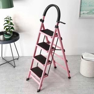 不鏽鋼梯子家用摺疊梯多功能伸縮梯居家