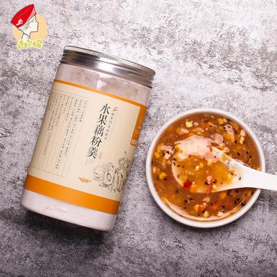 云娘食记 水果藕粉羮400g 坚果藕粉西湖杭州特产 纯手工 即食早餐