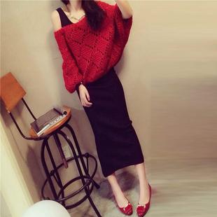 【圆领小香风】秋冬洋气时髦两件套裙子