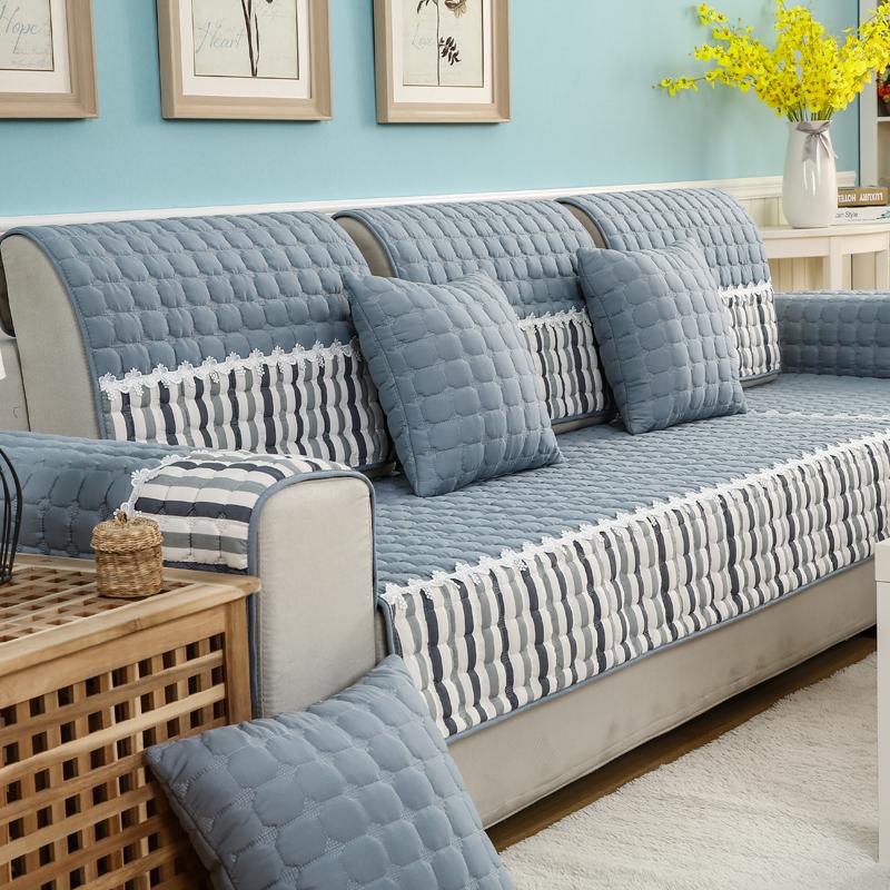 沙发垫四季防滑万能布艺坐垫简约现代全盖套罩客厅组合全包沙发巾