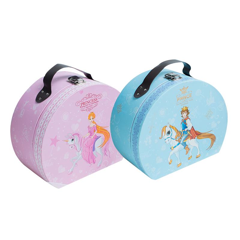成品喜糖宴席宝宝满月回礼礼盒百日生日伴手礼包装礼物公主王子-给呗网