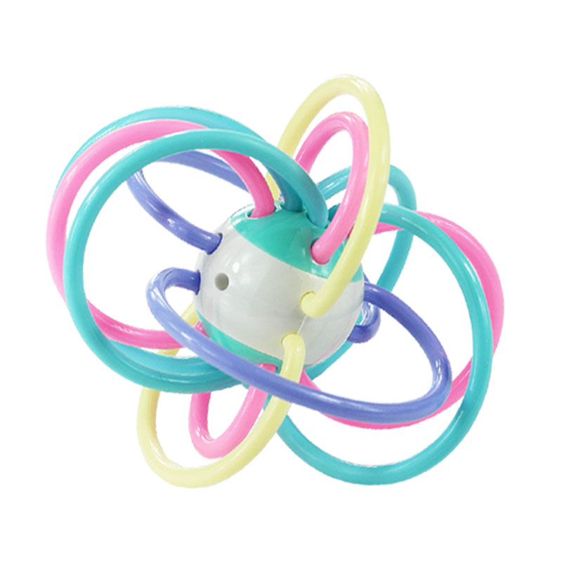宝宝牙胶磨牙棒咬胶婴儿玩具曼哈顿手抓球摇铃无毒硅胶软3-12个月_淘宝优惠券