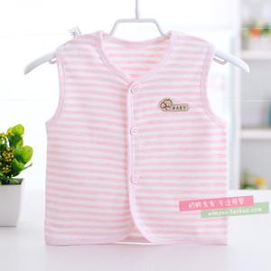 Bé vest vest mùa hè cotton sơ sinh vest trẻ sơ sinh mùa xuân và mùa thu phần mỏng chàng trai và cô gái bé vest