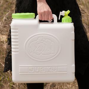 Xe nước uống bình tinh khiết xô đựng thực phẩm cấp nước loại du lịch dày loại dễ mang 25 lít - Thiết bị nước / Bình chứa nước
