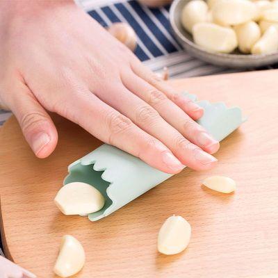 日本多功能剥蒜器大蒜去皮神器厨房手动蒜头蒜瓣剥皮器硅胶去皮器