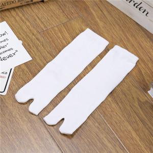 3.9 nhân dân tệ 1 cặp của Nhật Bản yukata kimono vớ đặc biệt hai ngón tay vớ vớ trắng túi chân dâm bụt vớ vớ cotton