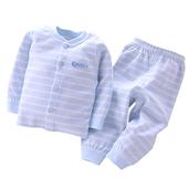 婴儿衣服纯棉新生儿内衣秋衣秋裤套装