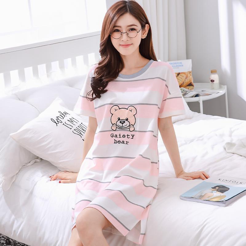 韓版莫代爾孕婦寬松純棉睡衣
