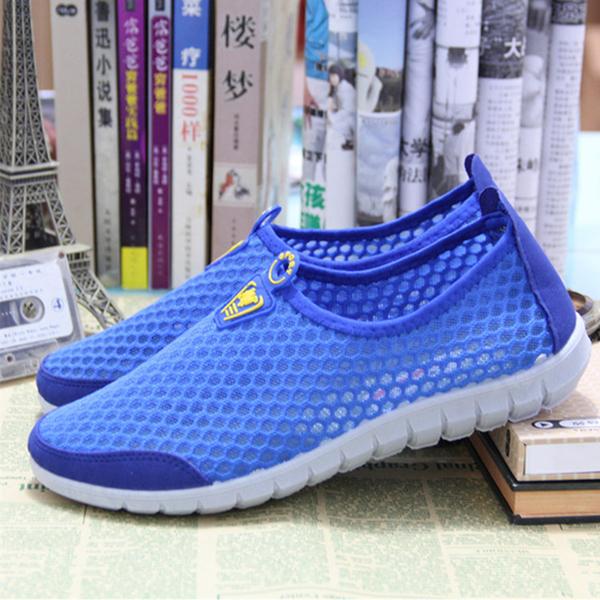 2020 весна обувь женская старый пекин квартира ткань обувная мужской и женщины дыхания обувной мисс случайный движение лето меш обувной