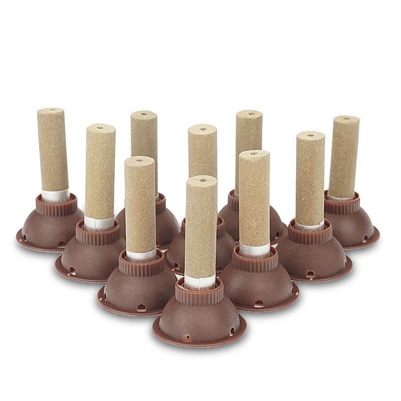 正品聚能灸加粗艾灸贴艾艾贴艾柱50粒温灸贴家用去湿暖宫贴艾灸盒