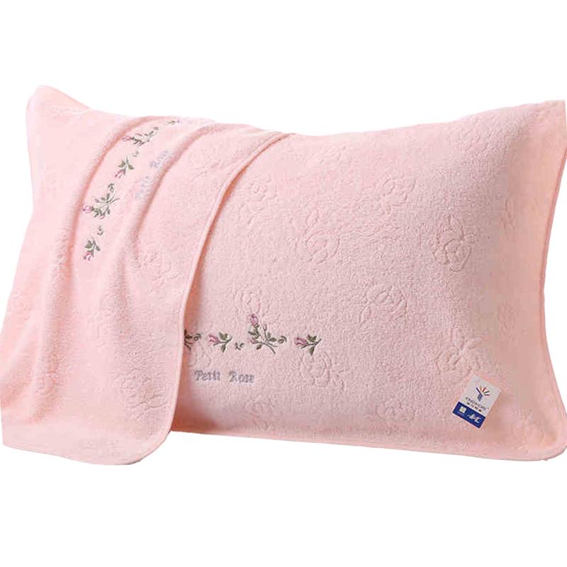 正品金号纯棉枕巾一对包邮-给呗网