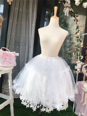 taobao agent Funny sauce original Lolita all-match Lolita star skirt fairy skirt lace mesh bust skirt