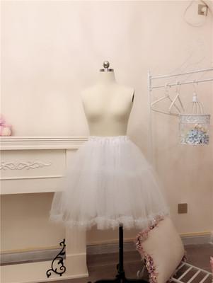 taobao agent Funny original【Lolita versatile mesh skirt】Soft girl cute double-layer skirt with tutu skirt