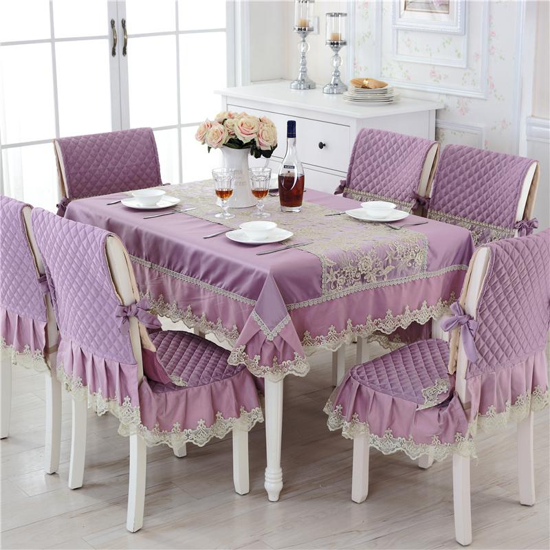 【特价】餐桌布椅垫椅套<font color='red'><b>欧式</b></font>餐桌椅子套装