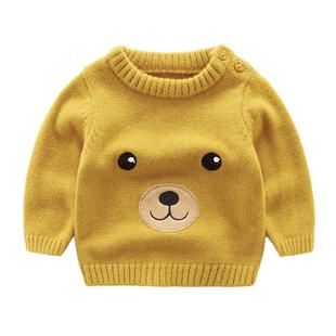 女宝宝超萌打底衫冬季保暖毛衣