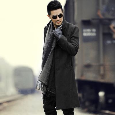 Đặc biệt cung cấp người đàn ông Anh của len len dài coat coat nam mỏng dài áo len nam F179 Áo len