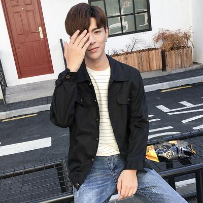 Mùa xuân và mùa thu nam áo khoác áo khoác đồng phục bóng chày thanh niên Hàn Quốc phiên bản của xu hướng giải trí scorpion Slim áo mỏng Nhật Bản Đồng phục bóng chày