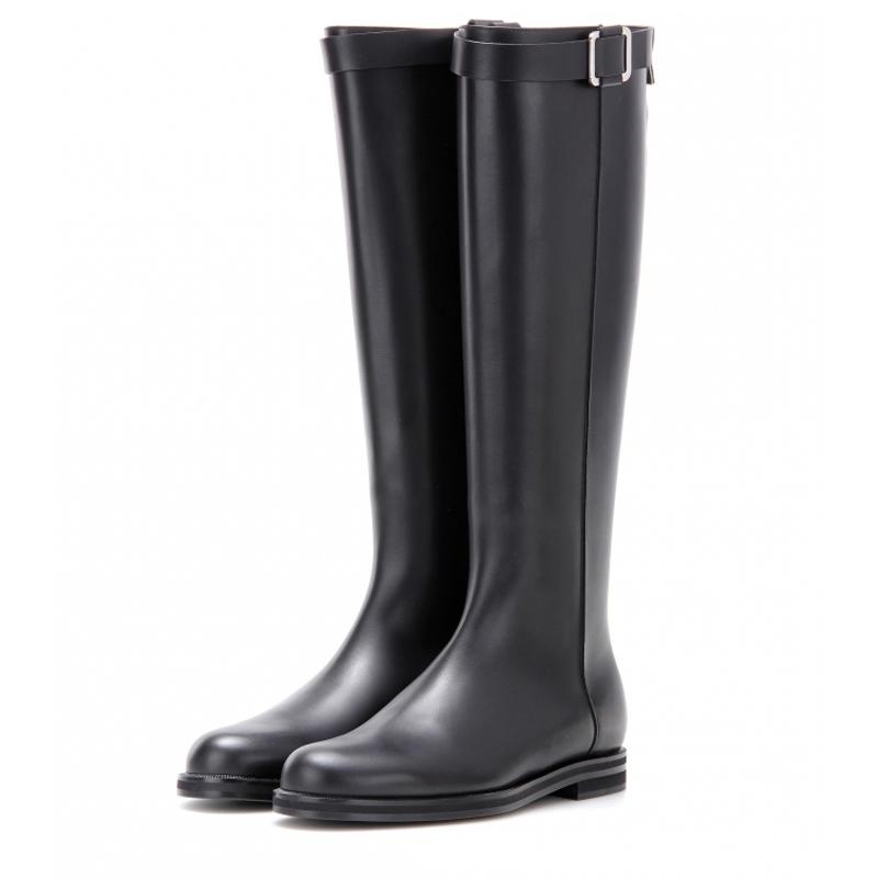 【超低价】秋冬新款真皮过膝女靴子