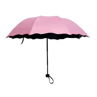 晴雨两用折叠遮阳伞防晒防紫外线太阳伞