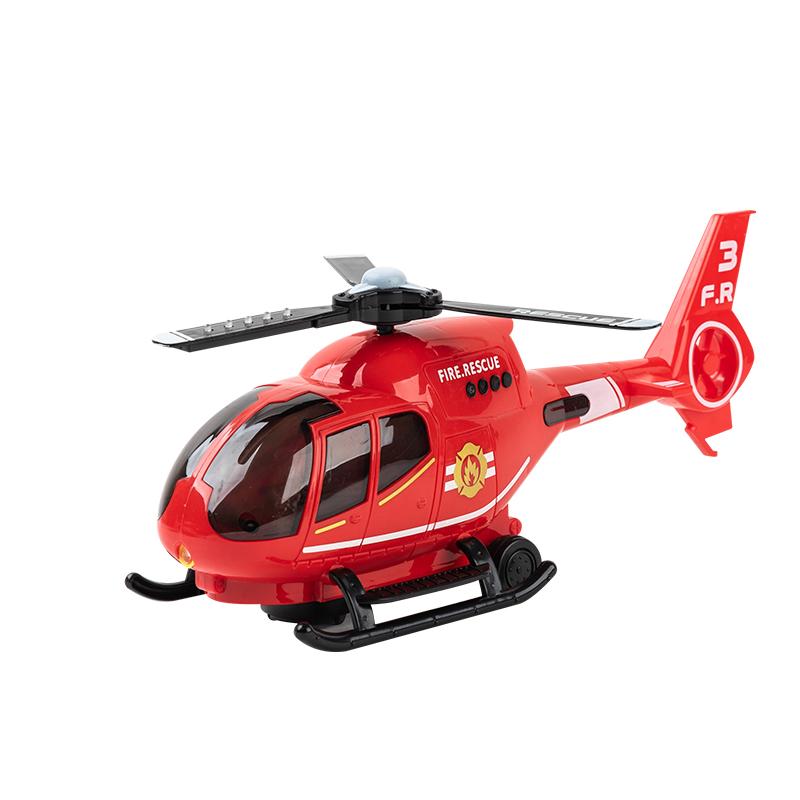 儿童电动万向灯光音乐飞机1-3-6周岁宝宝小直升机男孩警察玩具车_淘宝优惠券