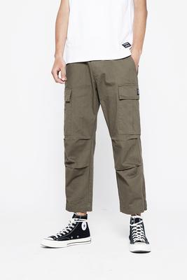 Làm sạch nhãn cầu mùa hè mới lỏng lẻo chín quần của đàn ông thủy triều thương hiệu thẳng overalls hip hop thường rộng chân quần Quần làm việc