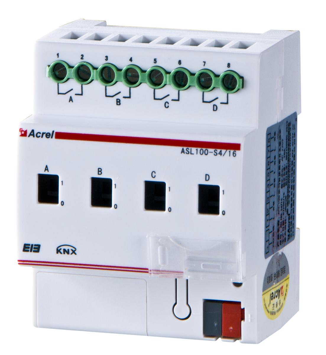 澳客比分直播即时比分4路开关驱动器ASL100-S4/16 开关状态设定