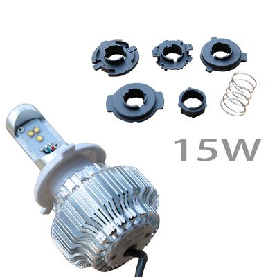 石栏LED大灯泡电动车超亮大灯鬼火GW250摩托车改装犀利眼30wLED灯