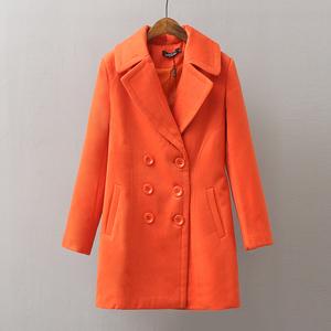 Chống mùa giải phóng mặt bằng 2018 mới ngắn đôi ngực áo len ngắn tầm vóc áo khoác nữ áo khoác mùa đông