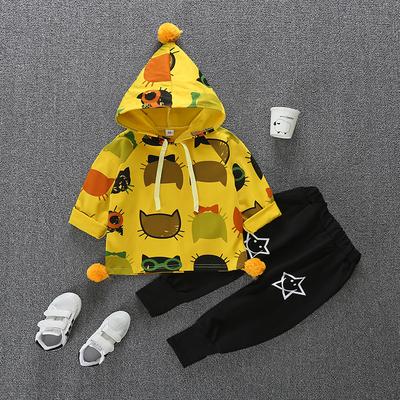 女宝宝春装套装0一1-2-3岁潮女童洋气婴儿童衣服春季4两件套5