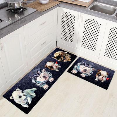 长方形浴室吸水吸油防滑厨房地垫