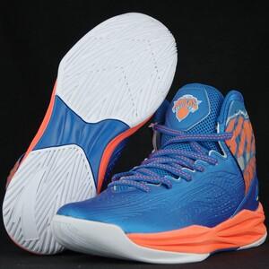 ANTA Anta NBA New York Knicks khởi động chống trượt chống mài mòn thể thao chiến đấu giày bóng rổ cao 11641302