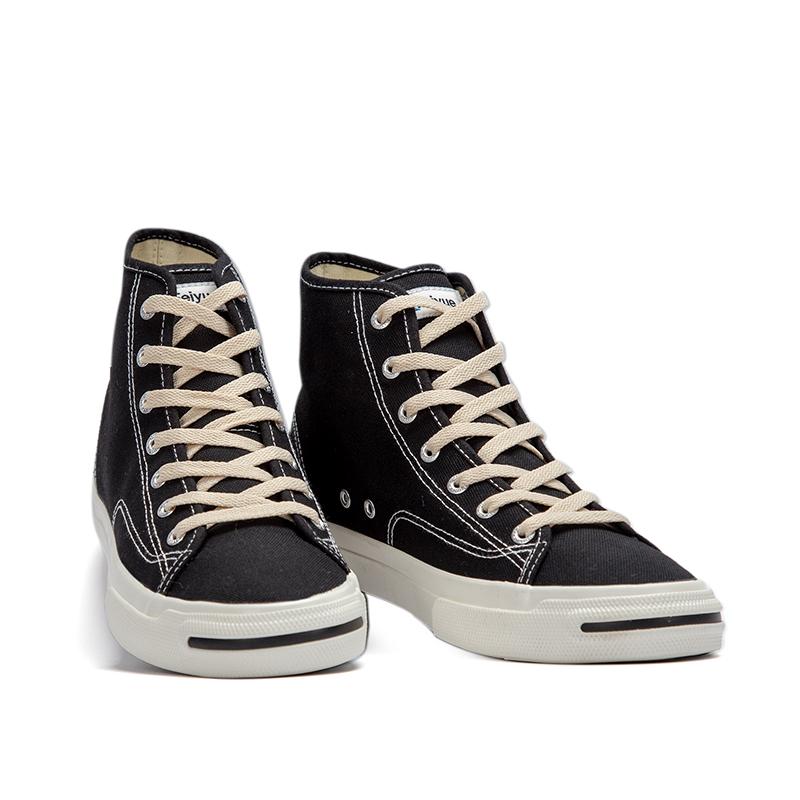 飞跃鞋帆布鞋男女高帮复古日系feiyue原宿风学生街拍潮情侣休闲鞋