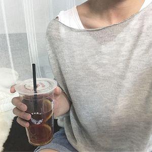 Trà và kem chống nắng màu xanh dệt kim Agu